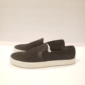 Vince Preston slip on sneaker linen black 8.5